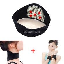 Free Shipping 11 pcs/set Tourmaline Belt Self Heating Massage Belt Tormaline Waist Neck Other Parts Magnetic Therapy Belt