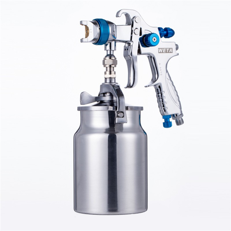 Weta HVLP spray paint gun 1 7mm Airbrush airless spray gun for painting cars Pneumatic tool
