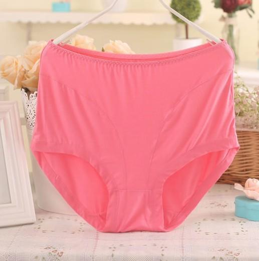 305ca848bf7 3pcs lot 2017 new fashion bamboo fibre plus big size panties seamless panty  women big size briefs high waist ladies  underwear