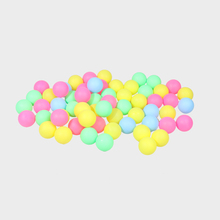 100/60/50 Pcs Fine Quality Ping Pong Balls Table Tennis Training Plastic Ball Bulk Colorful Decoration Touch