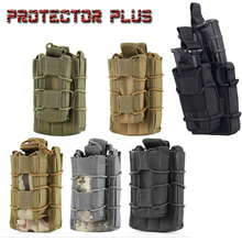 Modular Pistol Magazine Pouch  AK M4 M14 MOLLE Military Fast Tactical Mag Carrier Hunting Tactical Bag emerson tactical molle emersongear hunting quick access triple smg magazine mag pouch holder bag carrier for mp5 mp7 kriss