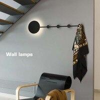 Современная Nordic Moon Eclipse светодиодный настенный светильник Ночной свет ребенка Спальня Гостиная бра светильник Настенный декор Книги по иск