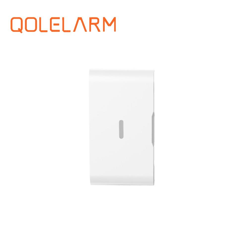 2018 new 433MHz Wireless vibration+panic sensor built-in baterry high quality for GSM home security alarm system high quality marlboze gsm alarm system shock sensor vibration sensor free shipping