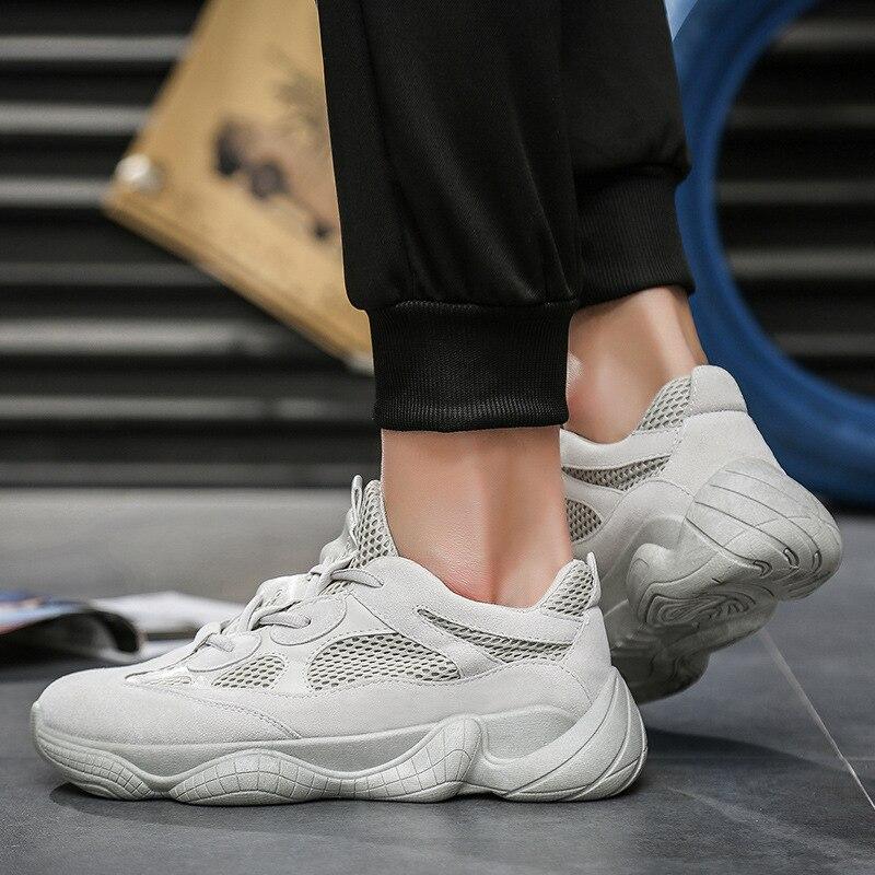 Cómodo Zapatos Papá De Aumento Transpirable Malla 3 5 Hombre 2 Los 6 1 Moda Hombres Caminando 2018 4 Verano dwxqtIFd
