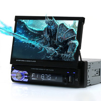 Universal 7in TFT Touch Screen HD Car DVD Player Stereo Radio Tuner Audio GPS Memory Navigator