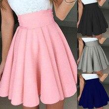 Womail, Женская юбка, летняя, модная, вечерние, Коктейльная, Мини юбка, для девушек, летняя, короткая юбка, повседневная, повседневная,, Прямая поставка, f8