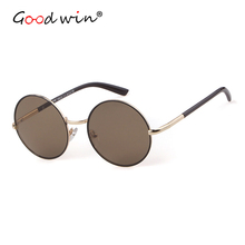 Good Win Women Sunglasses Vintage Round Classic Eyewear High Quality Retro Gradient 2019 For Male Female lunette