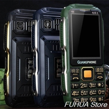 Аналоговый ТВ прочный мобильный телефон D8200 сенсорный экран большая клавиатура громкий голос 16800 мАч двойной фонарик две sim-карты мобильный телефон банк питания