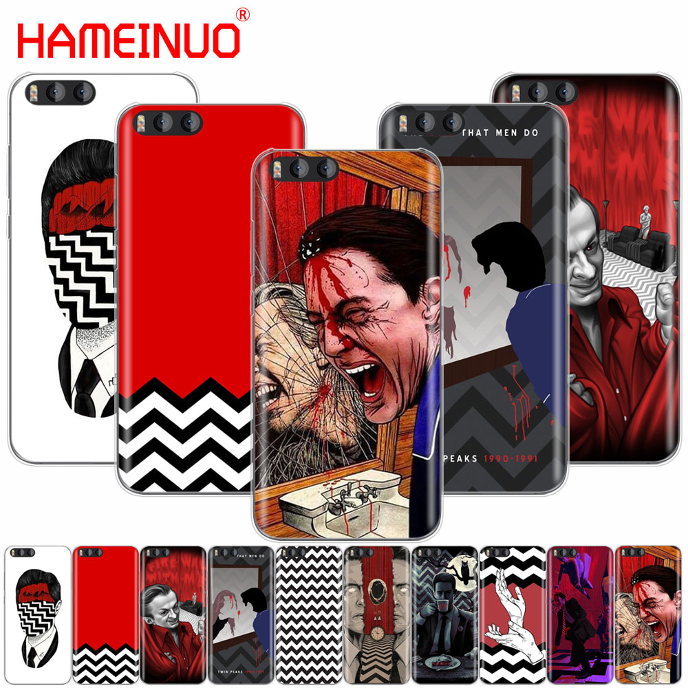 HAMEINUO Twin Peaks Fire Walk With Me Cover Case for Xiaomi Mi 3 4 5 5S 5C 5X 6 Mi3 Mi4 4S 4I 4C Mi5 MI6 NOTE MAX 2 mix plus