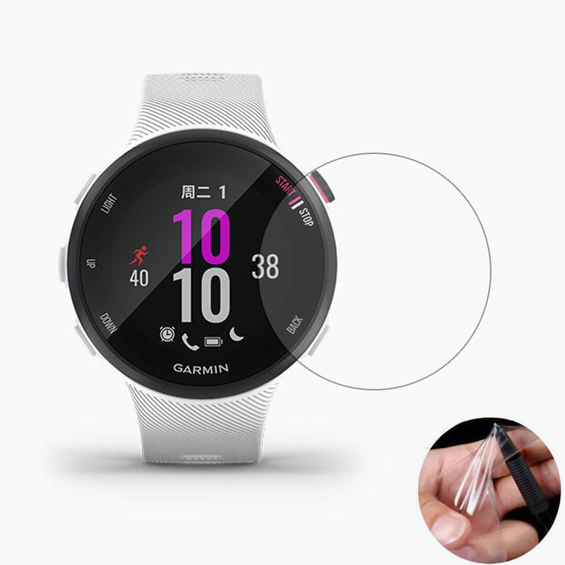 Guard Smartwatch Garmin Forerunner Cover Protective-Film Full-Screen-Protector Not-Glass