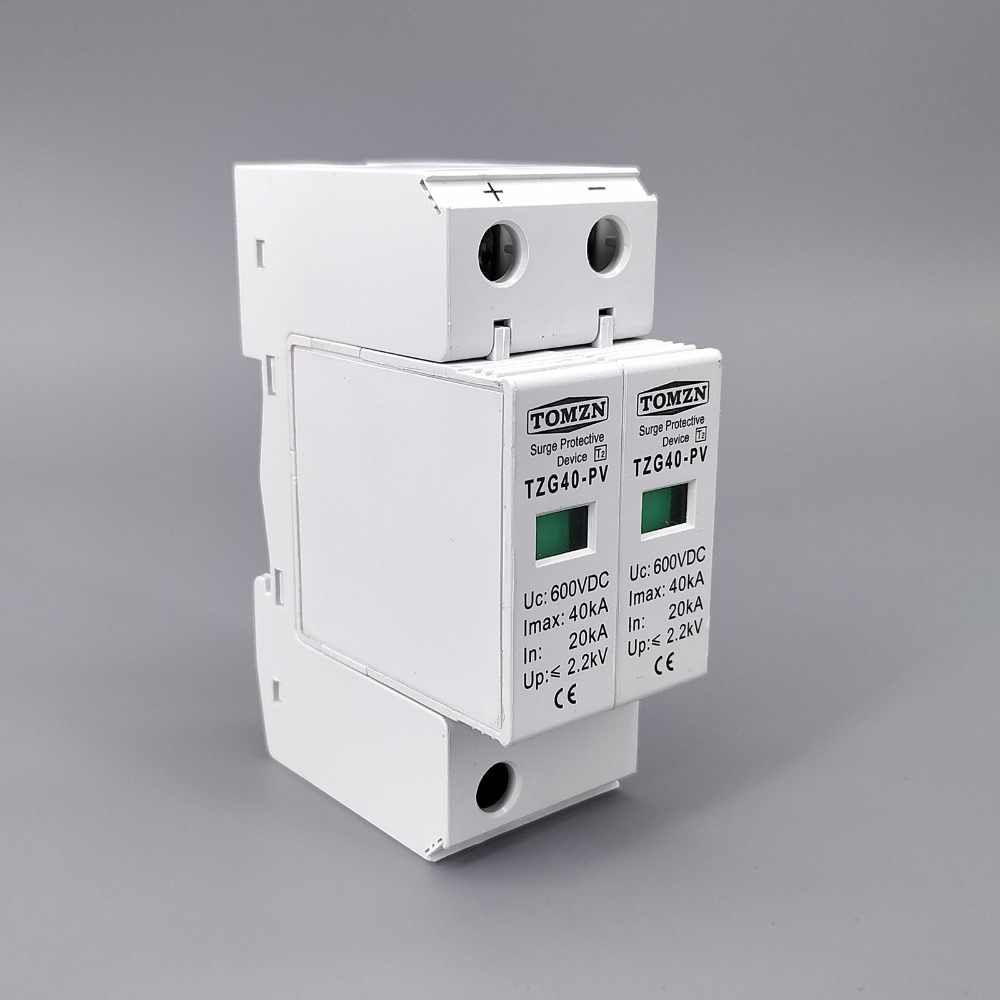 Dispositif de protection contre les surtensions SPD DC 600 V 20KA ~ 40KA