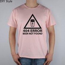 404 ERROR: BEER NOT FOUND green t-shirt