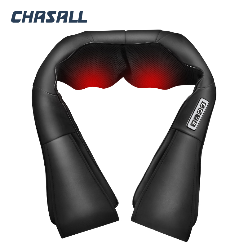 CHASALL ネック指圧ボディバック脚ショルダー電気マッサージツール健康ケア痛みリラクゼーションビッグモーターホームカーを使用  グループ上の 美容 & 健康 からの マッサージ & リラクゼーション の中 3