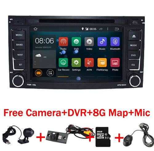 """imágenes para 7 """"Pantalla Táctil Capacitiva VW Touareg Android 7.1 Reproductor de DVD GPS Wifi 3G GPS Bluetooth de Radio RDS USB IPOD volante Control"""