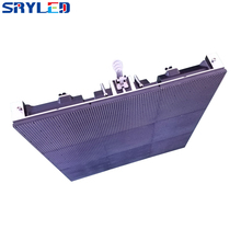 Outdoor P6 96*96pixels 576*576mm Die-cast Aluminum Cabinet Waterproof RGB 3in1 Outdoor SMD Full Color P6 LED Display Screen