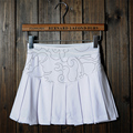 Style Upgrade Summer Women M-Draping Tennis Skirts Sport Pleated Skort for Tennis and Acheerleaders with Safety Pants