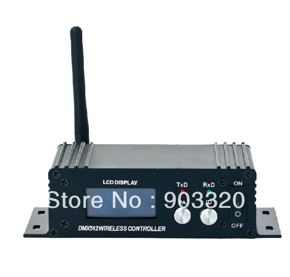 Free Shipping 2.4Ghz LCD Display 2in1 Wireless DMX512 Receiver & Transmitter for DMX Stage Light LED Par Light Stage Light 1x lot free shipping 2 4ghz lcd display wireless dmx512 receiver