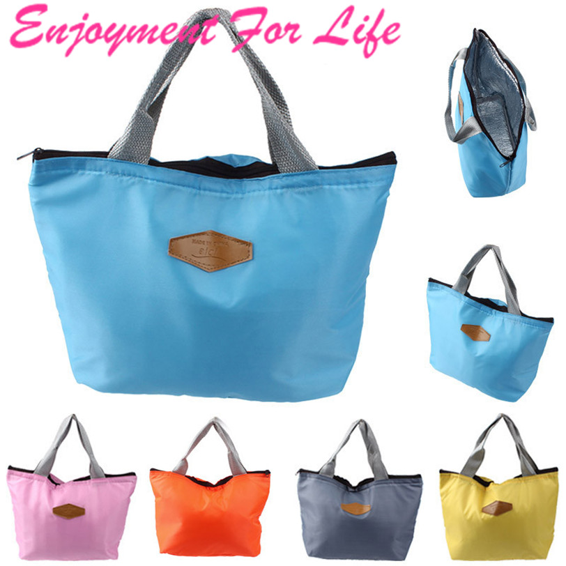 Lunch Bag High Quality Hot Sale Elegant Waterproof Portable Picnic Insulated Food Storage Box Tote Free Shipping Nov 10