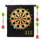 Crazy Dart Shooter - Магнитный дартс для домашнего фитнеса 12/15/17-дюймовый защитный затвор дротик  ★