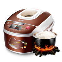 220V AUX Automatic Electric Rice Cooker 5L Intelligent Multifunctional Rice Cooker With Fashionable Big Visual Window