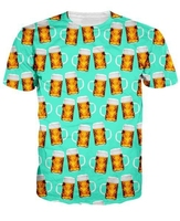 Beer Team Funny T Shirt Bear All Over Printed Men S Top Casual Tops Tee High
