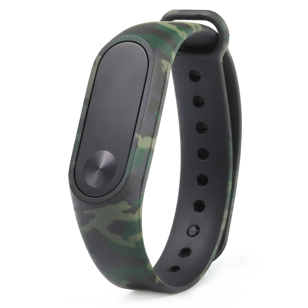Watch Strap Watch Band Camouflage Pattern Strap WristBand Bracelet Replacement For Xiaomi MI Band 2 Miband 2 HY new fashion original silicon wrist strap wristband bracelet replacement for xiaomi mi band 2 dignity 8 9