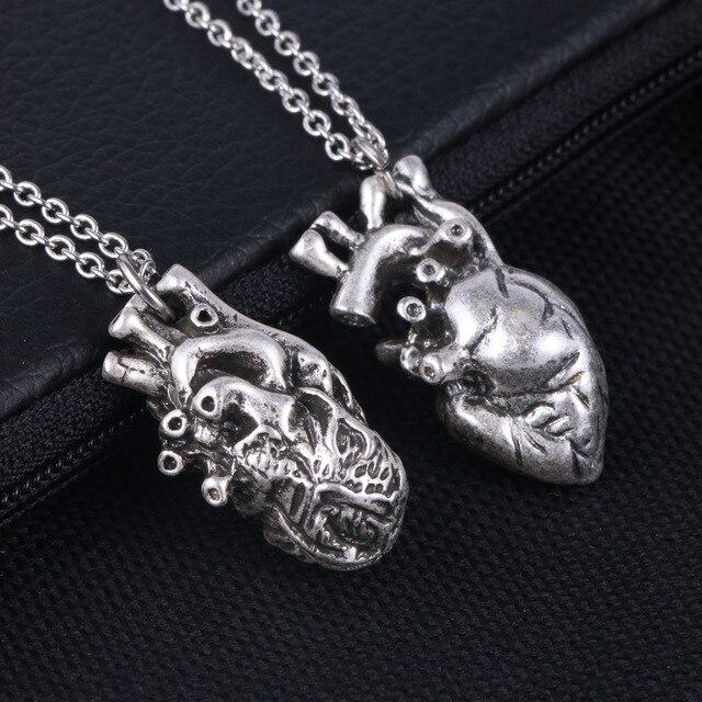 geekoplanet.com - Heart Pendant Necklace 17*30mm