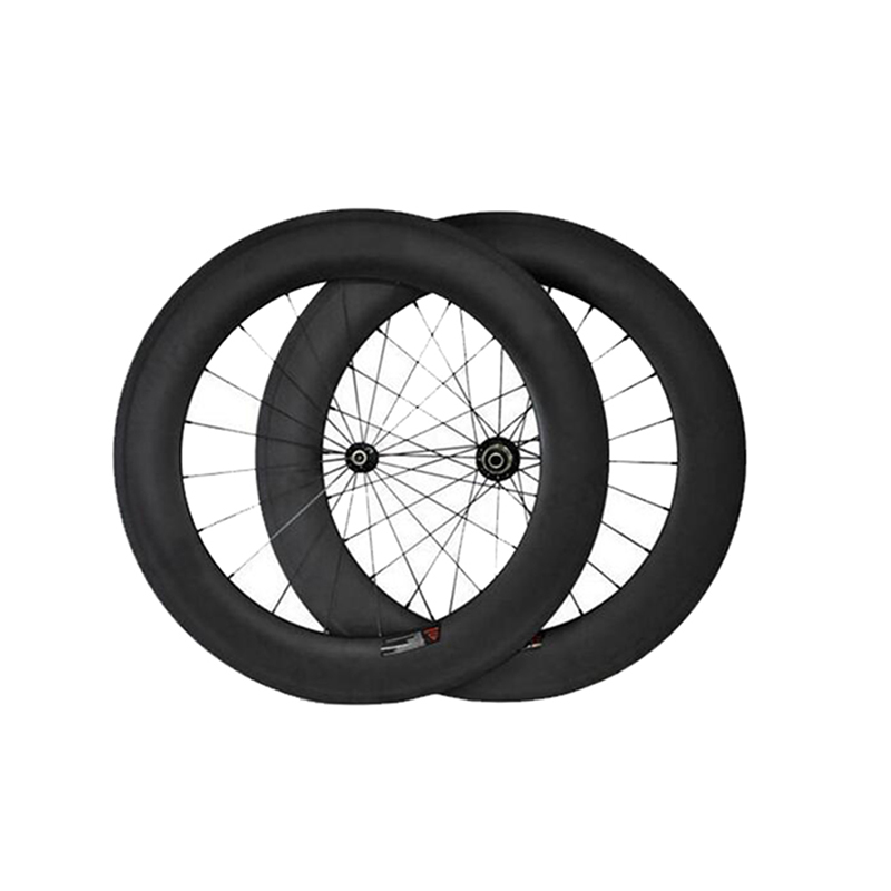 Ultra Light Carbon Wheels 700C 88mm Clincher Tubular Racing Bicycle Wheels Road Bike Wheelset bike accessories