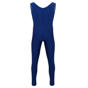 Image 3 - Male Mens Adults Dance Unitard Men Lycra Ballet Tight Jumpsuit Dance Costumes Thongs Bodysuit for Ballet Stage Performance