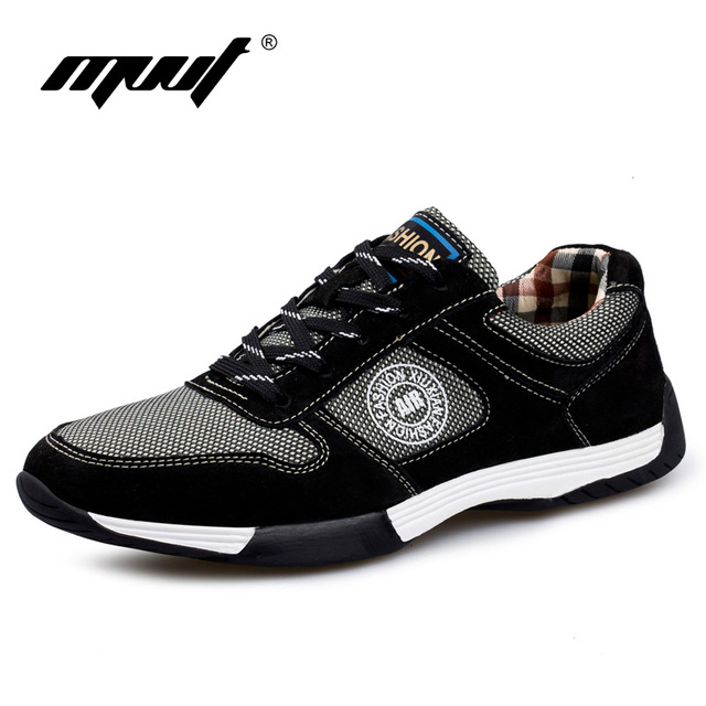 2017 Spring summer new style men's shoes breathable casual shoes men flats comfort soft leather shoes men footwear