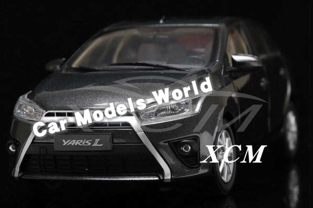 Modèle de voiture moulé sous pression pour Yaris 1:18 (gris) + petit cadeau!!!!-in Jouets véhicules from Jeux et loisirs    1