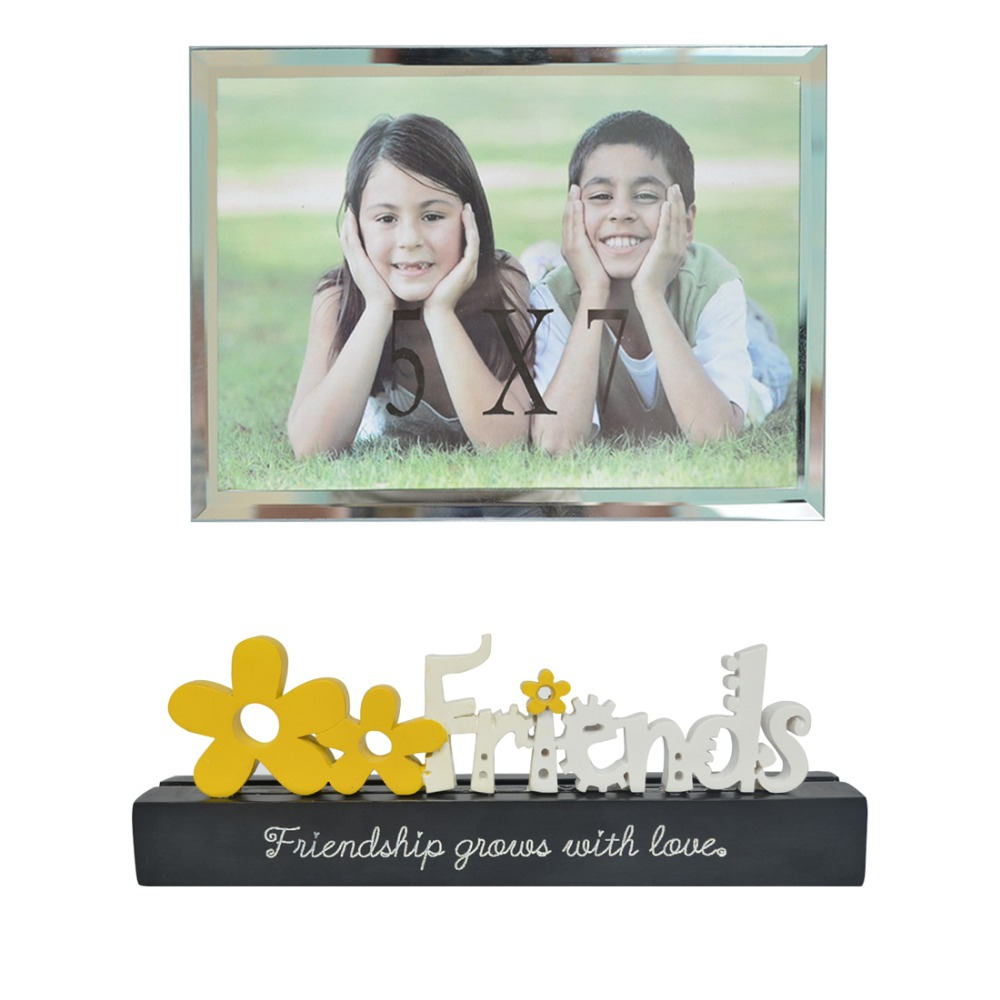 Giftgarden 8x6 Gold Picture Frame Hollow up Vintage Photo Frames for ...