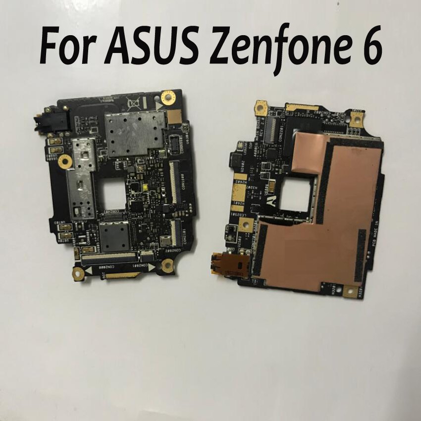 100% Tested Working Original mainboard For ASUS Zenfone 6 ZF6 A600CG A601CG T00G Motherboard Flex Cable Card Fee chipsets
