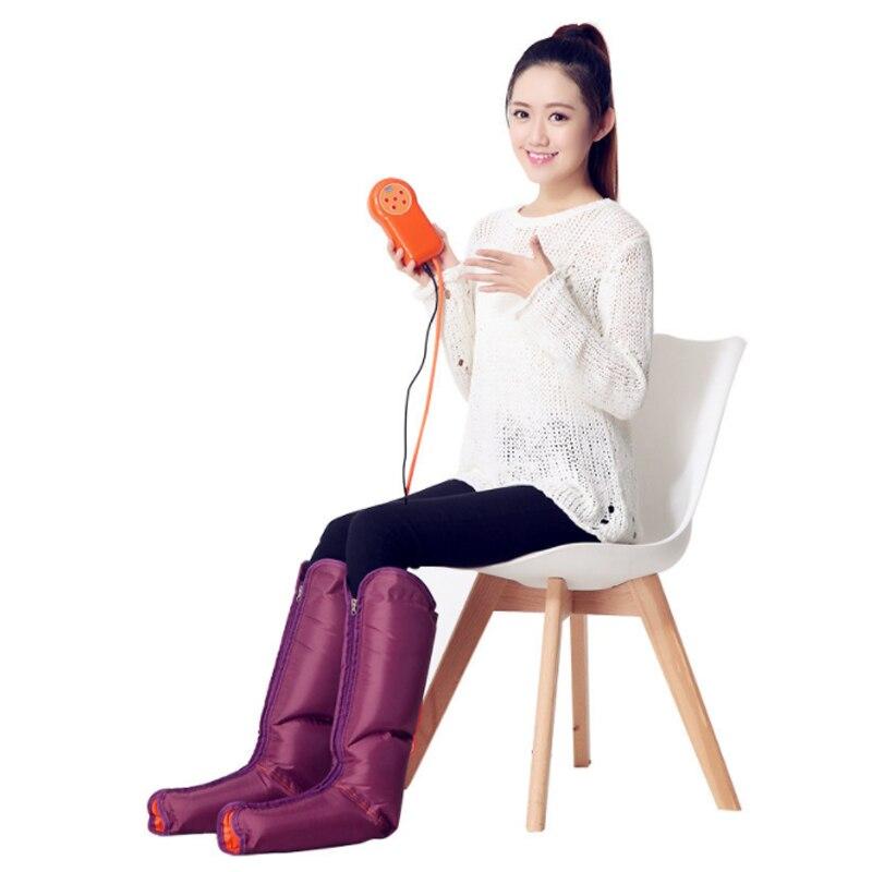 Air jambe pression massothérapie soins de santé pression Circulation brassard manchon de compression cuisse Relaxation calme fatigué apaise les muscles