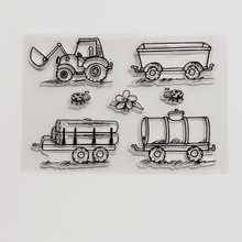 Clear Stamps Scrapbook DIY photo cards account rubber stamp11*16WELL SOON 1 piese Small Orders Accepted Small Orders Accepted(China)