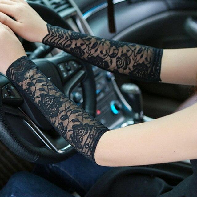 Sommer Frauen Schwarz Rose Floral Arm ärmel Tattoo Arm Hülse Narbe