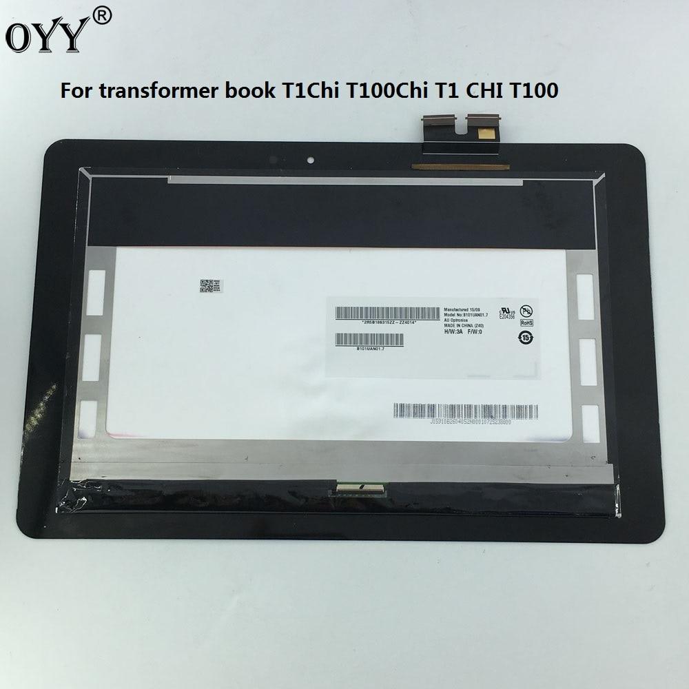 10.1 pouces pour Asus transformer livre T1Chi T100Chi T1 CHI T100 CHI LCD affichage écran tactile numériseur assemblée pièces de rechange