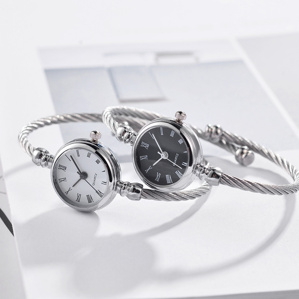 Bracelet Watch Clock Small Ladies Luxury Brand Dial Quartz Kol Saati Gift Fine-Strap title=