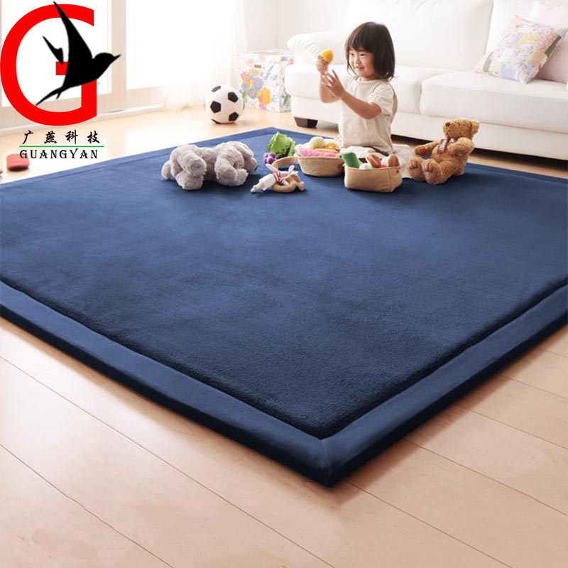 2cm Thick Coral Fleece Mat Carpet Infantil Children Game