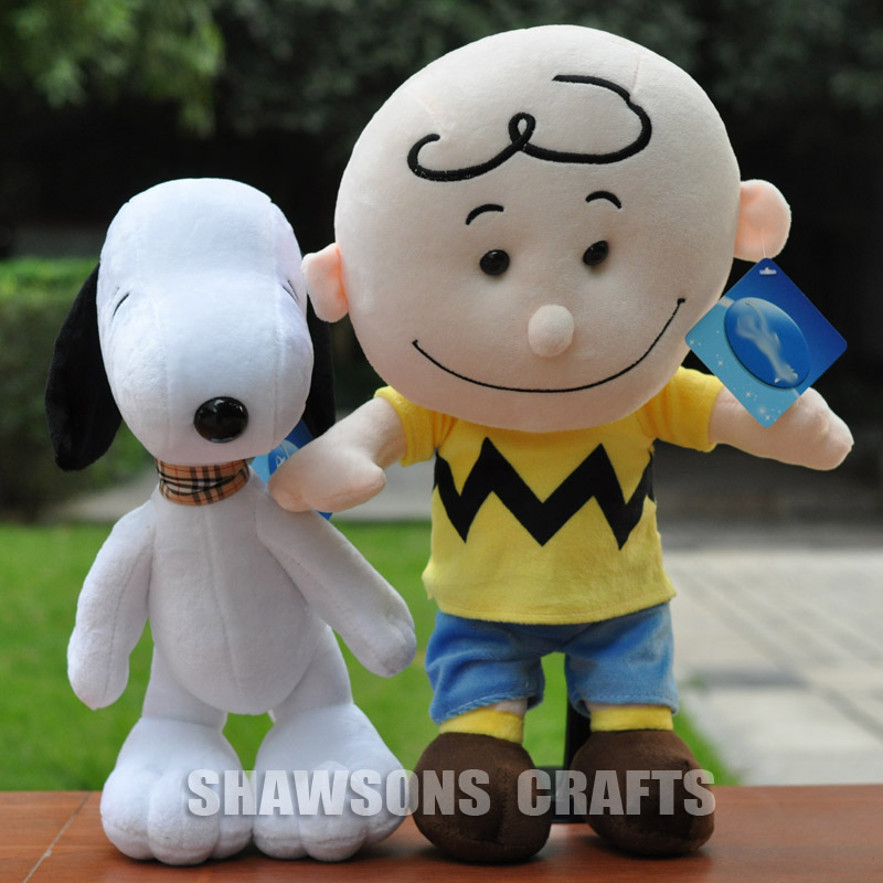 Tv Character Charlie Brown Plush Stuffed Toys Kid Puppy Dog