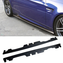 E Style Carbon fiber Side skirts Fit For BMW E92 M3