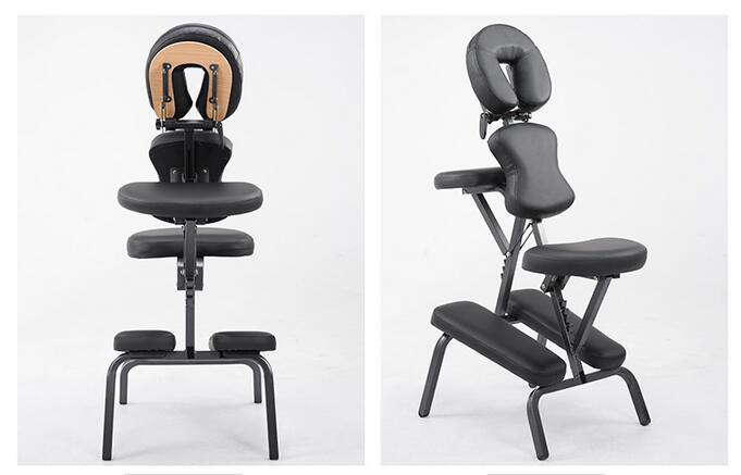 Folding massage chair tattoo chair relaxation chair hairdressing scraping chair portable health massage chair.