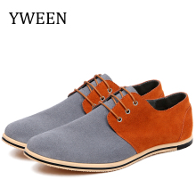 купить YWEEN Men's Casual Shoes Big Size EUR 50 Lace-Up Shoes Men Style Mixed Colors Fashion Oxford Dress Shoes дешево