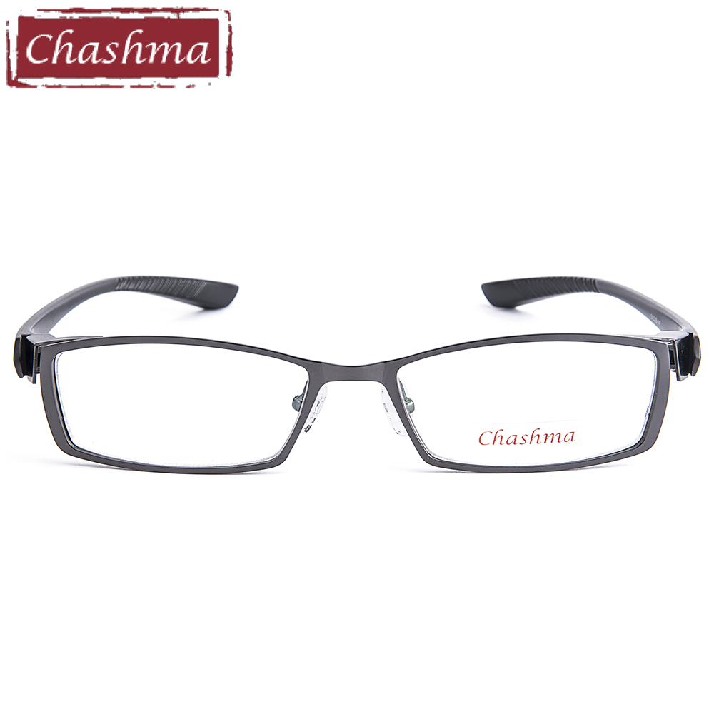 b527b7278a Buy Men Titanium Alloy Metal Eyeglasses Full Frame Ultra Light ...