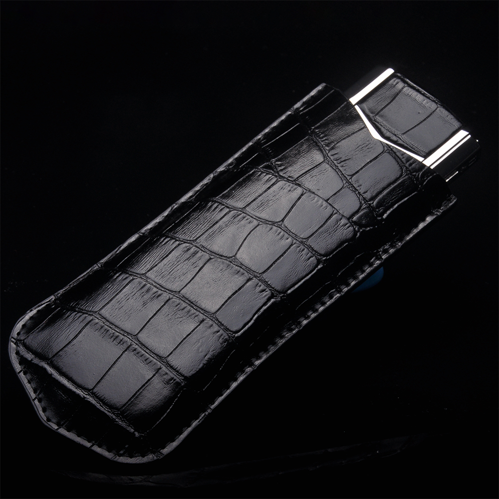 NEW Business Style Luxury Genuine Leather Case For Vertu Signature S CEO 168 Mobile Phone Protective Cover gear shift