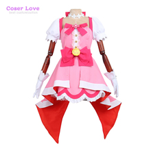 Pretty Cure Precure Cure Flora Cosplay Carnaval Costume Halloween Christmas Costume(China)