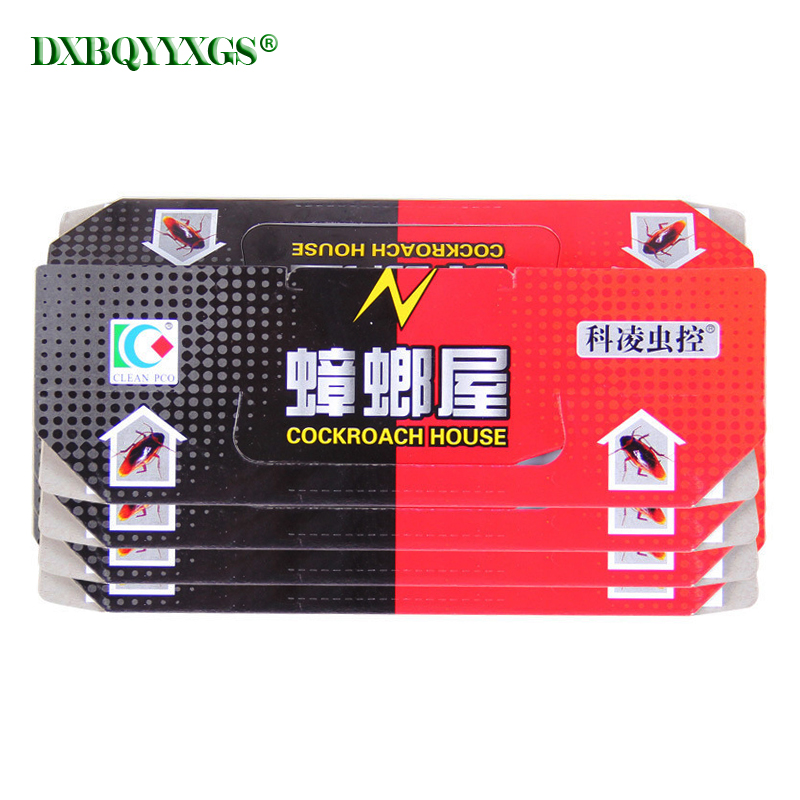 40pcs Fold Capture Cockroaches House Strong glue catch insect From Cockroach Killer Trap Bait Gel Pest Control Safe&Non-Toxic40pcs Fold Capture Cockroaches House Strong glue catch insect From Cockroach Killer Trap Bait Gel Pest Control Safe&Non-Toxic