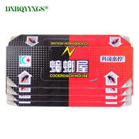40pcs Fold Capture Cockroaches House Strong glue catch insect From Cockroach Killer Trap Bait Gel Pest Control Safe&Non-Toxic