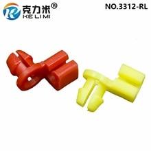KE LI MI Car Left Right Door Side Lock Latch Rod 4mm Size Clip Plastic Retainers