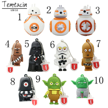 Star Wars USB 3.0 Pen Drive 64GB USB Flash Drive 64GB 32GB 16GB 8GB 4GB USB Flash Disk Memory Stick U Disk